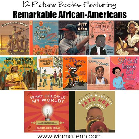 12 Picture Books About Remarkable Americans Free