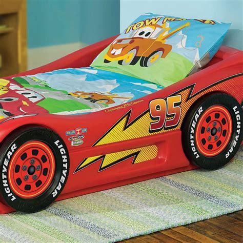 tikes cars 2 lightning mcqueen sports car bed tikes lightning mcqueen roadster toddler car bed