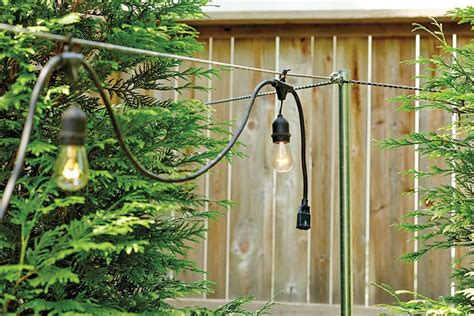poles to hang string lights how to hang string lights how to decorate