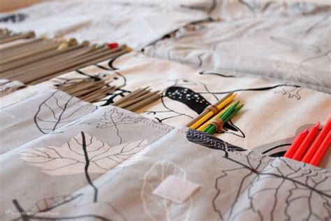 knitting needle roll tutorial 17 best images about sewing odds ends on