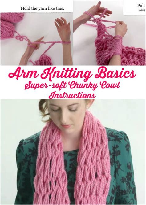 arm knitting techniques wonderful diy easy arm knitting for beginners