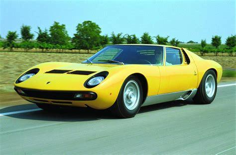 1971 old Lamborghini Miura SV Coupe