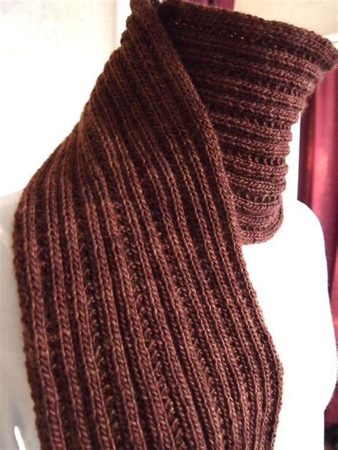 simple mens scarf knitting pattern 25 best knit scarf patterns ideas on knitting