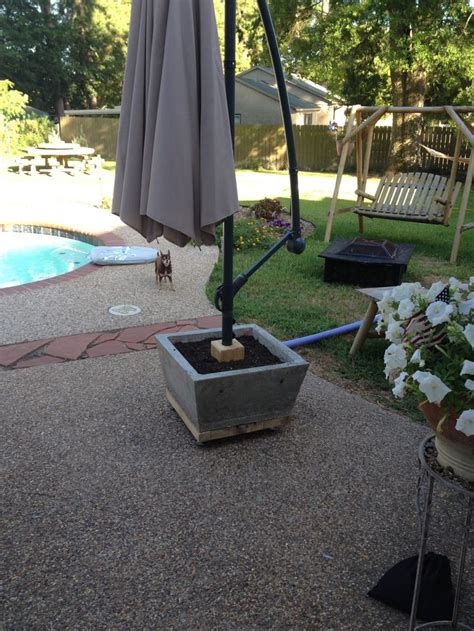 patio umbrellas stands 25 best ideas about patio umbrella stand on