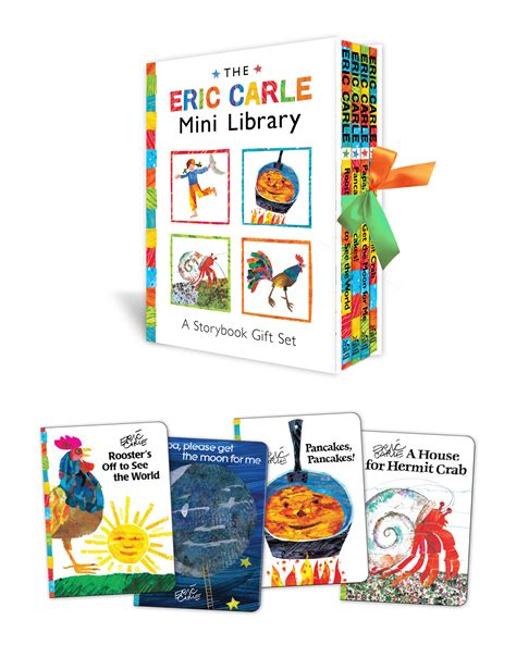 eric carle picture books the eric carle mini library book by eric carle