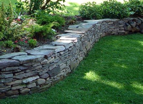 garden wall stones garden wall flowers and gardening