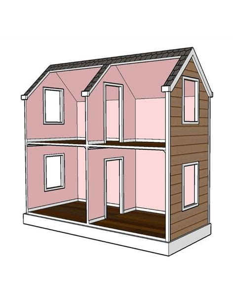 18 inch doll house plans free doll house plans 18 inch doll woodworking projects plans