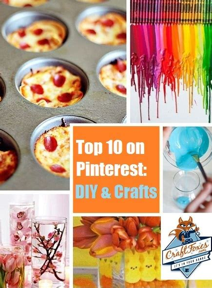 pintrest crafts for pinteresting crafts top 10 diy projects