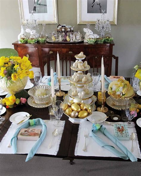 martha stewart table decoration ideas easter table crafts and favors martha stewart