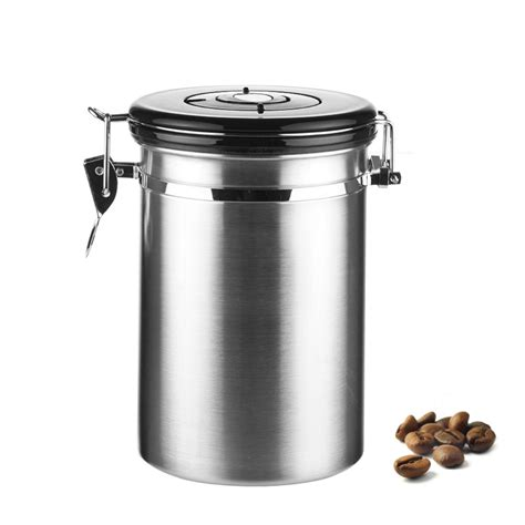 stainless steel canisters kitchen aliexpress buy coffee tea sugar storage tanks sealed