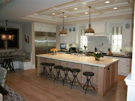 kitchen with island images 18 compact kitchen island with seating for six ideas