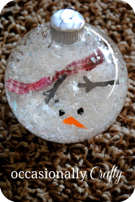 handmade snowman ornaments 25 beautiful handmade ornaments