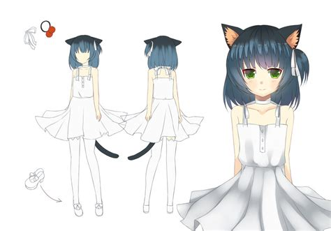 utau yami official concept art by tsunyandere