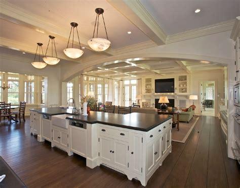 kitchen living room open floor plan open kitchen living home decor like