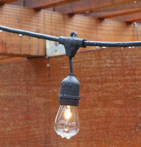 string lighting for outdoors top outdoor string lights for the holidays teak patio
