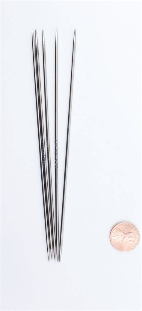 what size knitting needles platina 6 quot point size 0 knitting needles by