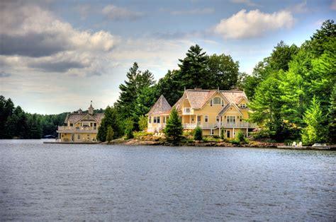 lake rosseau cottages boathouses muskoka
