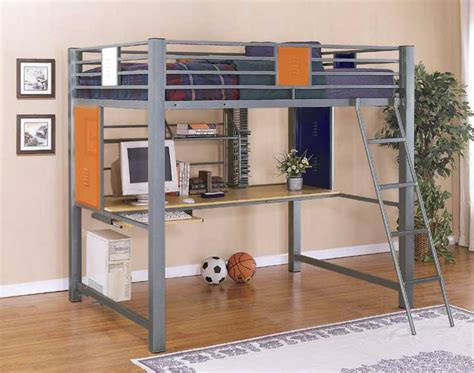 study loft bunk bed size loft bunk bed with built in study desk in