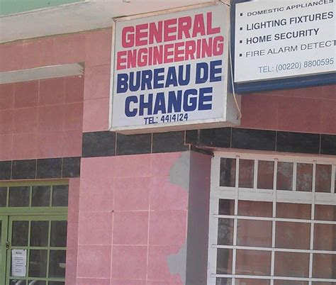 general engineering bureau de change gambia co ltd