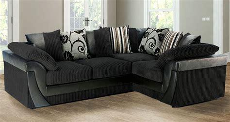 Small Black Corner Sofa by Black Corner Sofa Leather Corner Sofa For London Black