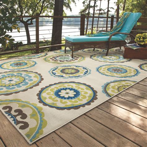 outdoor rug green bungalow beige green indoor outdoor area rug