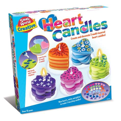 craft kits candles make decorate craft kit educational toys