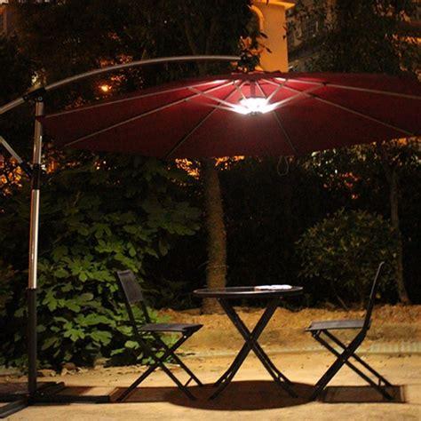 led patio umbrella lights patio patio umbrella with lights home interior design