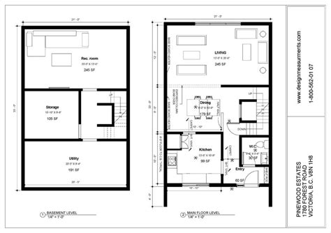 2 bedroom floor plans with basement groupe denux pinewood estate townhouses