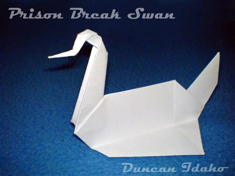 prison origami swan prison swan by xduncanidahox on deviantart