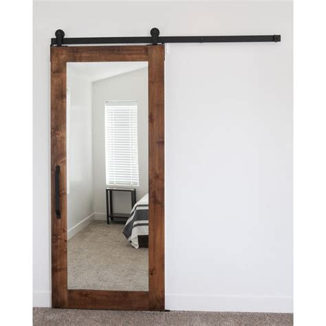 mirrored barn door best 25 mirror door ideas on mirrored barn