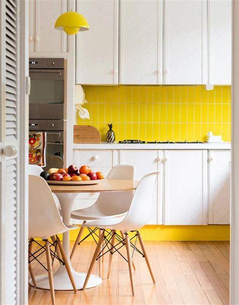 backsplash for yellow kitchen colorful backsplash tiles for kitchens homesfeed