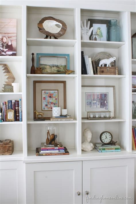 ideas for decorating bookshelves lessons learned in styling a bookcase finding home farms