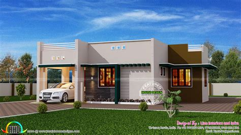3 Bedroom House Plans Indian Style 1500 square foot house kerala home design and floor plans