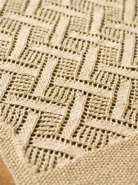 free knitted table runner patterns montague free berroco pattern this lace