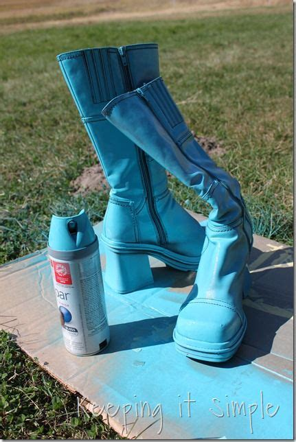 spray painting boots 72 best images about the 70 s costume ideas on