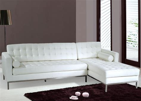 white leather sofa bed sale modern sectional sofa in white leather s3net sectional