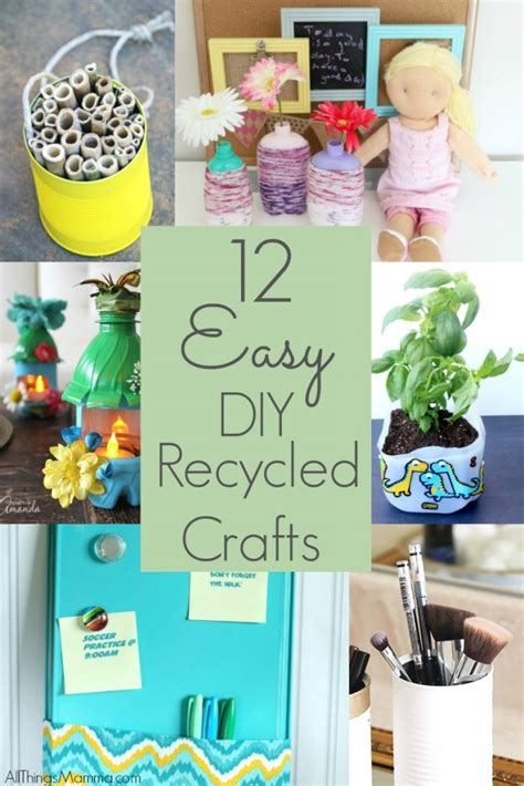 recycling crafts for diy recycled bottle flower vase craft
