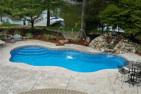 pictures of backyard pools beautiful inground pools bellisima