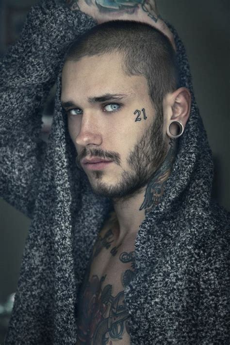 hottest tattooed male models alux com