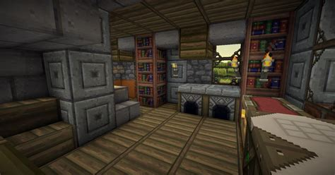Kitchen Servers Furniture fantasy medieval house practice 3 interiors with download