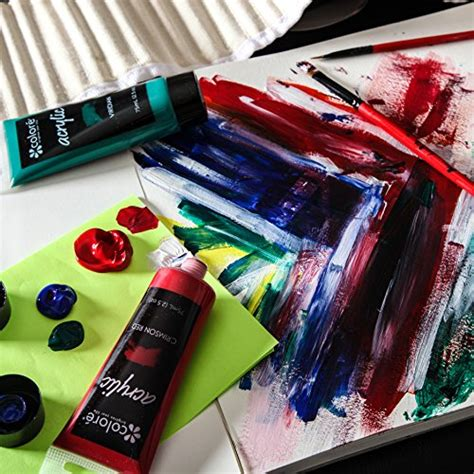 acrylic painting kits for adults colore acrylic paint studio set professional grade