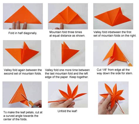origami paper canada origami maple leaf card ideas kirigami