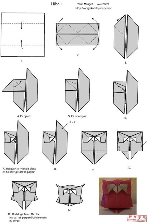 how to fold an origami origami owl owl origami origami owl diagram