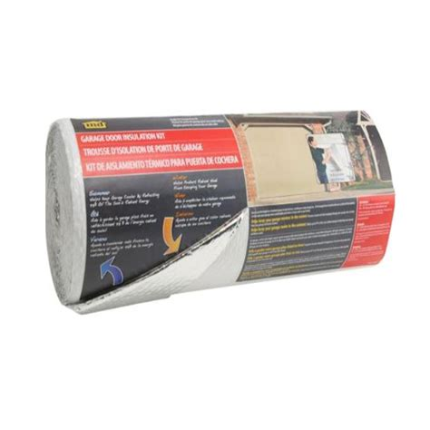 home depot garage door insulation m d building products 22 in x 40 ft silver white garage