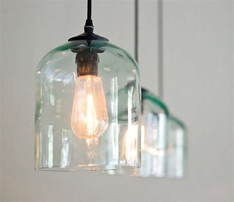 glass kitchen light fixtures 10 ways to decorate your home by repurposing freshome