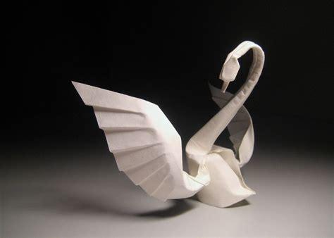 fold origami swan origami swan bored panda