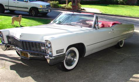 67 Cadillac Convertible by Black Plate 1967 Cadillac Convertible For Sale On