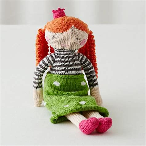 knit doll the 14 quot knit crowd doll neve the land of nod
