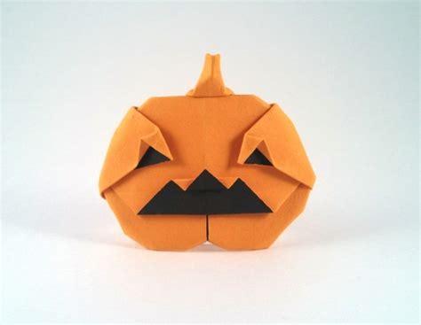 origami pumpkins o lantern bolitho gilad s origami page