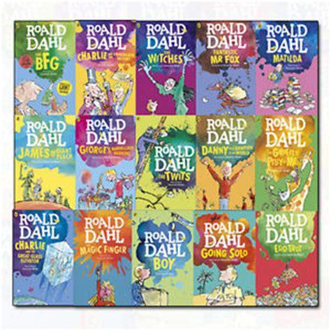 Roald Dahl Collection 15 Books Set Dahl Fiction Children